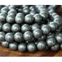 Pyrite Beads, 8mm Round