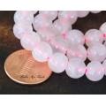 Rose Quartz Beads, 8mm Round