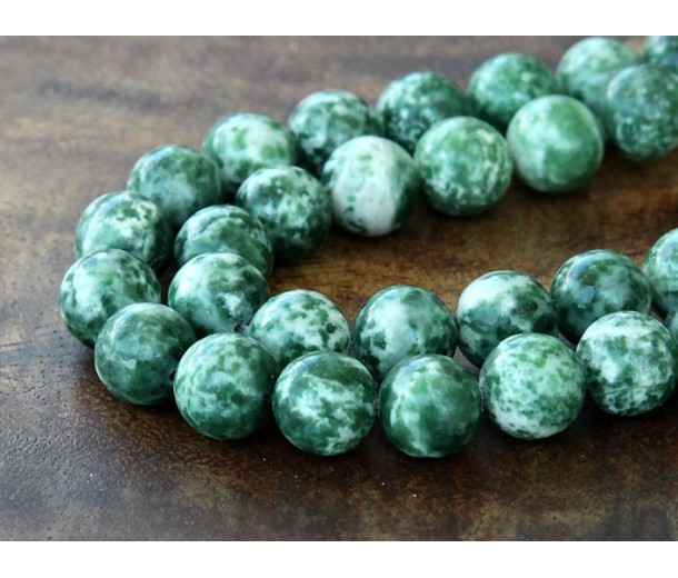Tree Agate Beads, 10mm Round