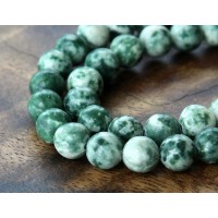 Tree Agate Beads, 8mm Round