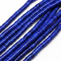 Imitation Turquoise Beads, Blue, 8x3mm Heishi Disk