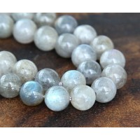 Labradorite Beads, 10mm Round