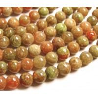 Autumn Jasper Beads, 10mm Round