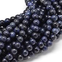 Sodalite Beads, Dark Blue, 8mm Round