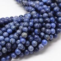 Sodalite Beads, Medium Blue, 8mm Round