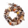 Botswana Agate Beads, Natural, Small Chip
