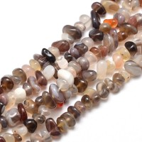 Botswana Agate Beads, Small Chip