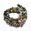 Indian Agate Beads, Natural, Small Chip