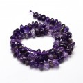 Amethyst Beads, Natural, Small Chip