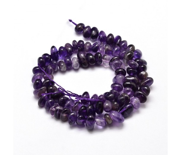 Amethyst Beads, Small Chip