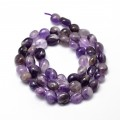 Amethyst Beads, Medium Purple, Small Nugget
