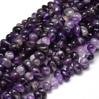 Amethyst Beads, Medium Nugget