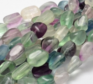 Fluorite Beads, Large Nugget
