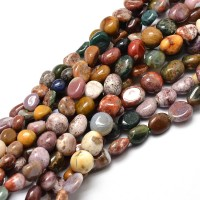 Ocean Jasper Beads, Natural, Small Nugget