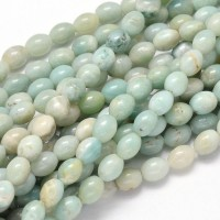 Amazonite Beads, 10x8mm Barrel