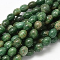 African Jade Beads, 10x8mm Barrel