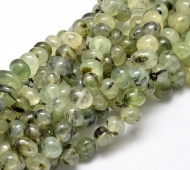 Prehnite Beads, Medium Green, Medium Nugget