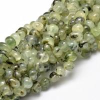 Prehnite Beads, Natural, Green, Medium Nugget