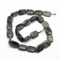 Rhyolite Jasper Beads, 16x12mm Rectangle