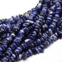 Sodalite Beads, Dark Blue, Small Chip