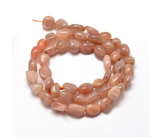 Sunstone Beads, Small Nugget
