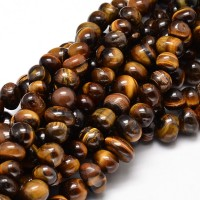 Tiger Eye Beads, Medium Nugget