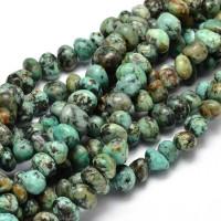 African Turquoise Beads, Medium Nugget