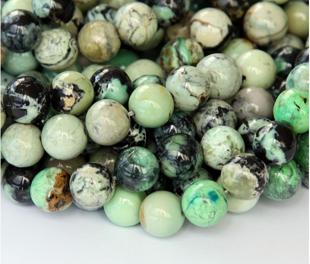 Chrysotine Beads, 10mm Round