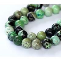 Chrysotine Beads, 10mm Round