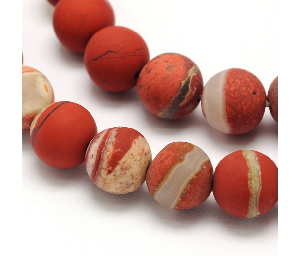 natural strand a with gemstone inch from round red stone listing sesame jasper on svoa beads il
