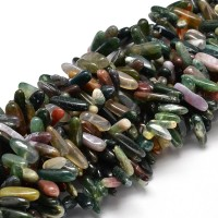Indian Agate Stick Beads, 8-30mm