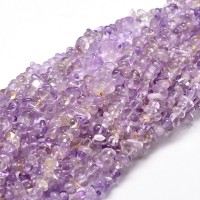 Ametrine Beads, Natural Light Purple, Small Chip