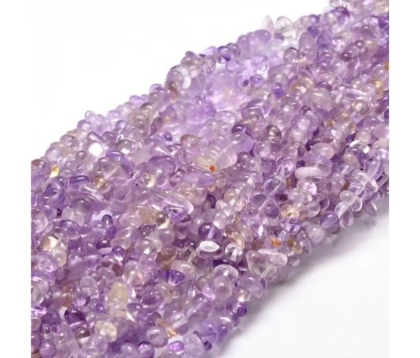 Ametrine Beads, Light Purple, Small Chip