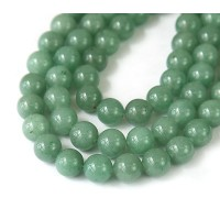 Green Aventurine Beads, 6mm Round