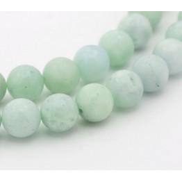 Amazonite Beads, Light Teal Green, 8mm Round