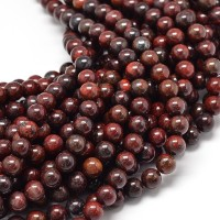 Brecciated Jasper Beads, 10mm Round