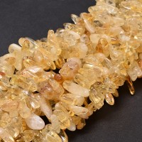 Citrine Stick Beads, 6-20mm