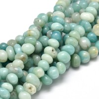 Amazonite Beads, Medium Nugget