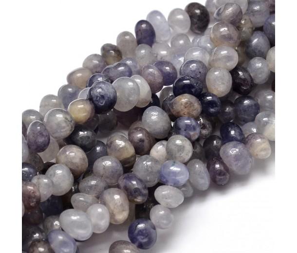 Iolite Beads, Medium Nugget