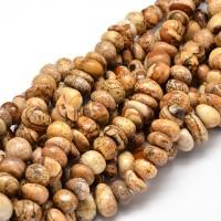 Picture Jasper Beads, Medium Nugget