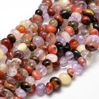 Gemstone Bead Mix, Multicolor, Medium Nugget