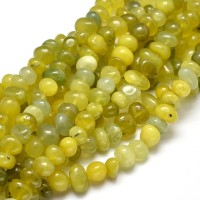 Peridot Beads, Yellow Green, Medium Nugget