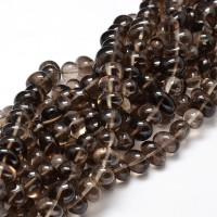 Smoky Quartz Beads, Brown, Medium Nugget