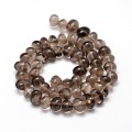 Smoky Quartz Beads, Brown, Medium Nugget