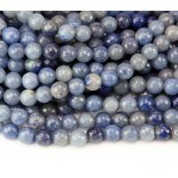 Blue Aventurine Beads, Natural, 10mm Fa..