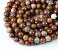 Pietersite Beads, Natural, 6mm Round