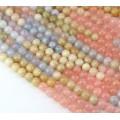 Morganite Beads, 6mm Round