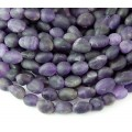 Matte Amethyst Beads, Natural, Small Nugget