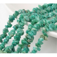 Russian Amazonite Beads, Medium Chip
