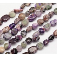 Charoite Beads, Natural, Medium Nugget